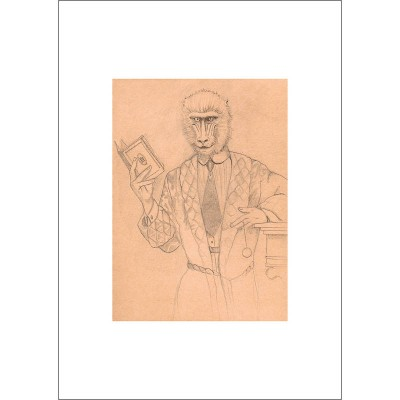 Archie - Pencil Drawing (Mounted)