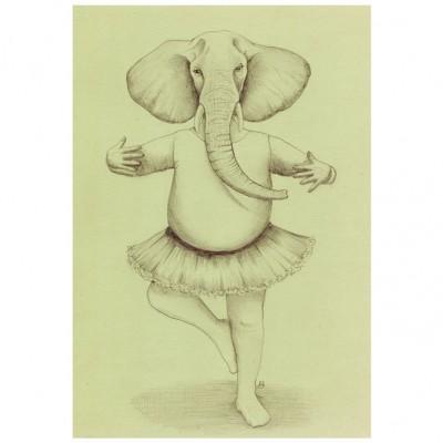 elephant-20x30